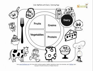 Food Worksheets for Preschoolers or 9 Free Nutrition Worksheets for Kids Health Beet