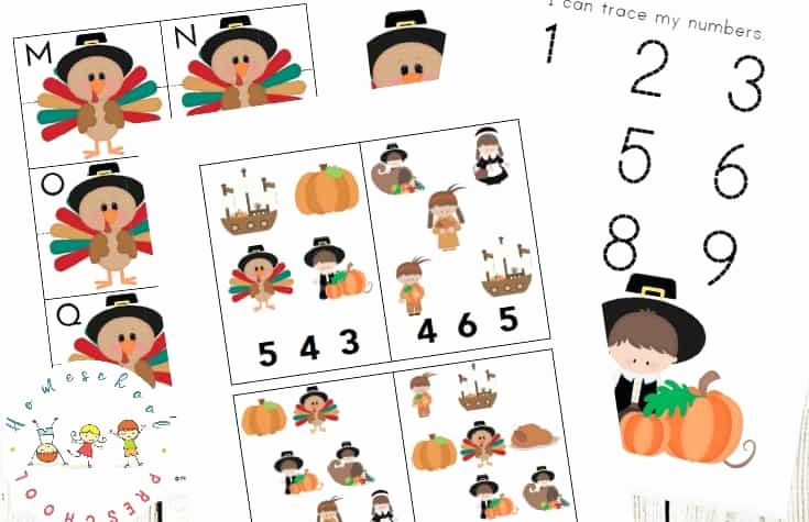 Thanksgiving Preschool Worksheets Preschool Of Free Thanksgiving Preschool Learning Pack