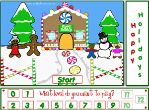 Christmas Multiplication Of Holiday Fun Free Line Math Game