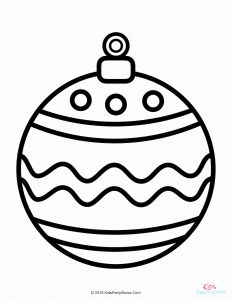 Christmas ornament Coloring Pages and Christmas Coloring Pages
