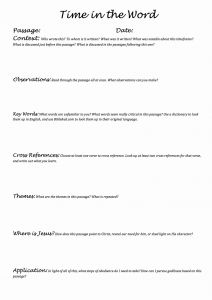 Printable Bible Study Worksheets then Printable Bible Study Worksheets for Adults – Learning How to Read
