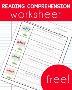 Www Free Reading Comprehension Worksheets and Free Reading Prehension Worksheet