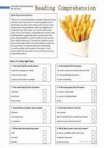 Www Free Reading Comprehension Worksheets then Reading Prehension 2