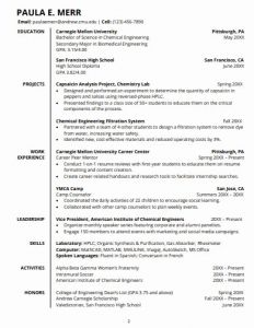 Template Resume Student or 14 College Student Resume Templates In Word
