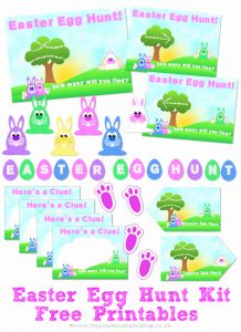 Easter Egg Hunt Printables Free then 20 Fun Easter Ideas & Activities for Families