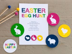Easter Egg Hunt Printables Free then Free Printable for Your Easter Party