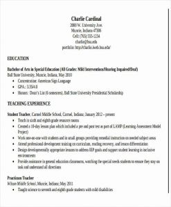 Resume Template Teacher Free and 28 Teacher Resume Templates Download