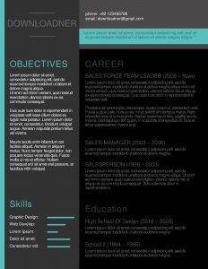 Template Resume Download Of Fully Editable Modern Resume and Cv Templates In Ms Word