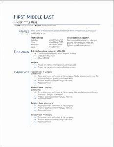 Template Resume Student then Free Your Resume College Student Resume Bariol